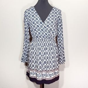 One Clothing Blue & White Dress Size Small